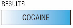cocaine test kit results