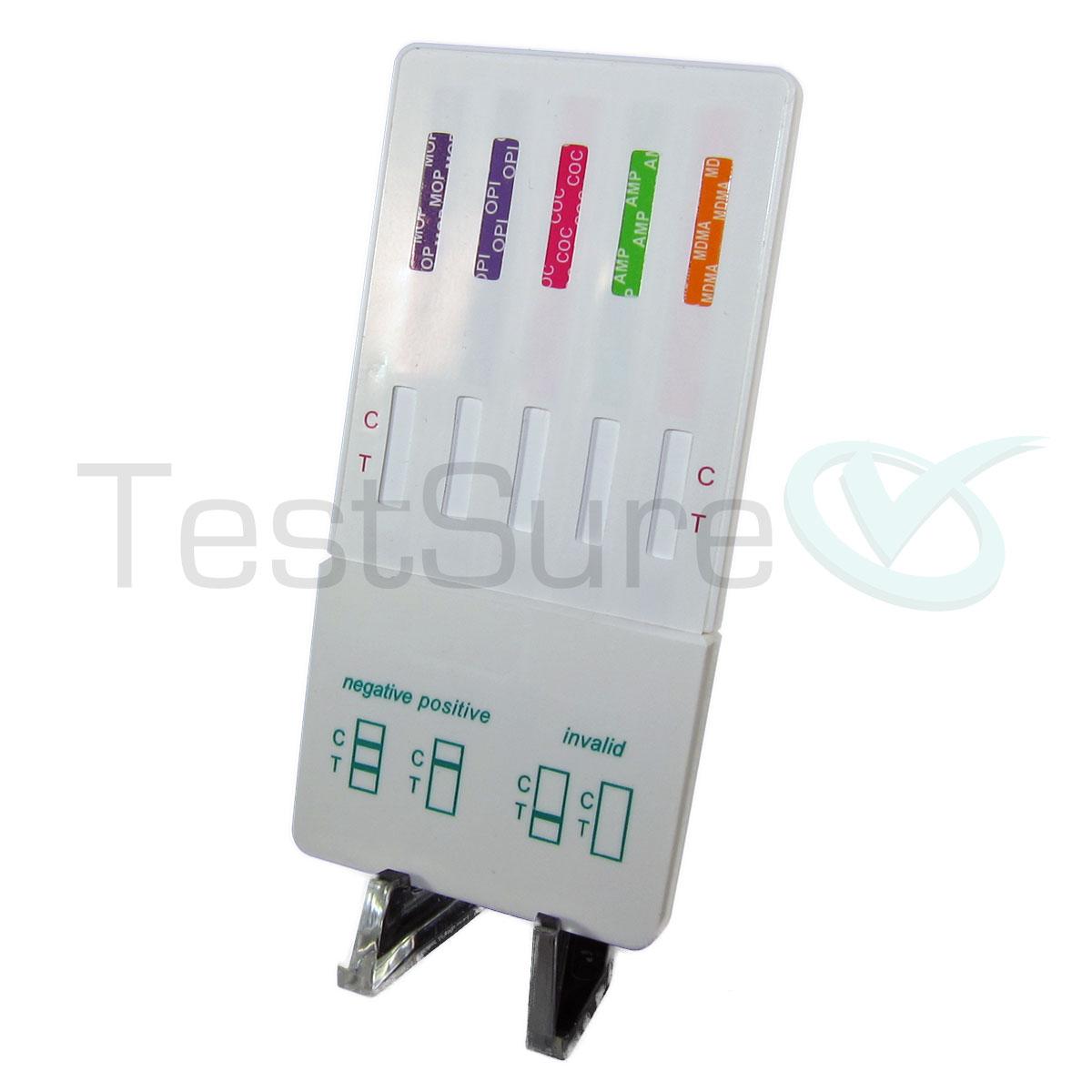 10 panel at home urine drug test