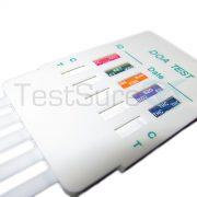 5 panel multi drug test dip card