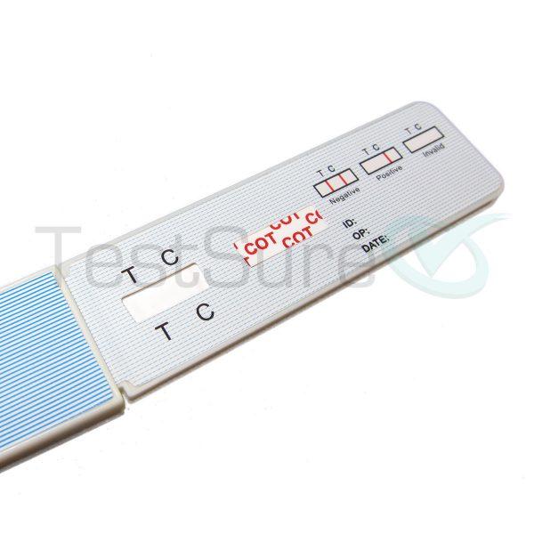 nicotine urine test
