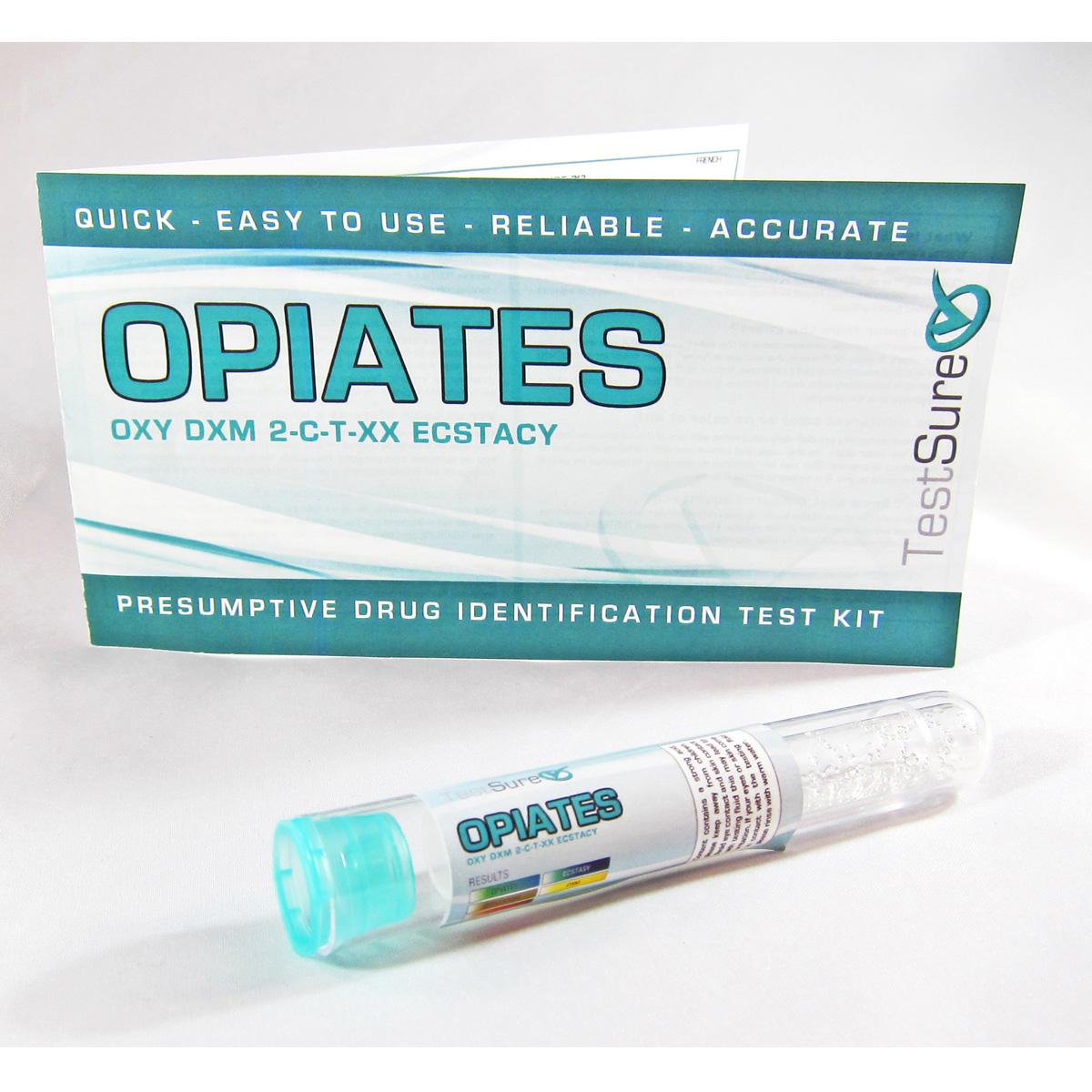 Opiate Test Kit Reagent Field Test To Identify Opiates Test Sure