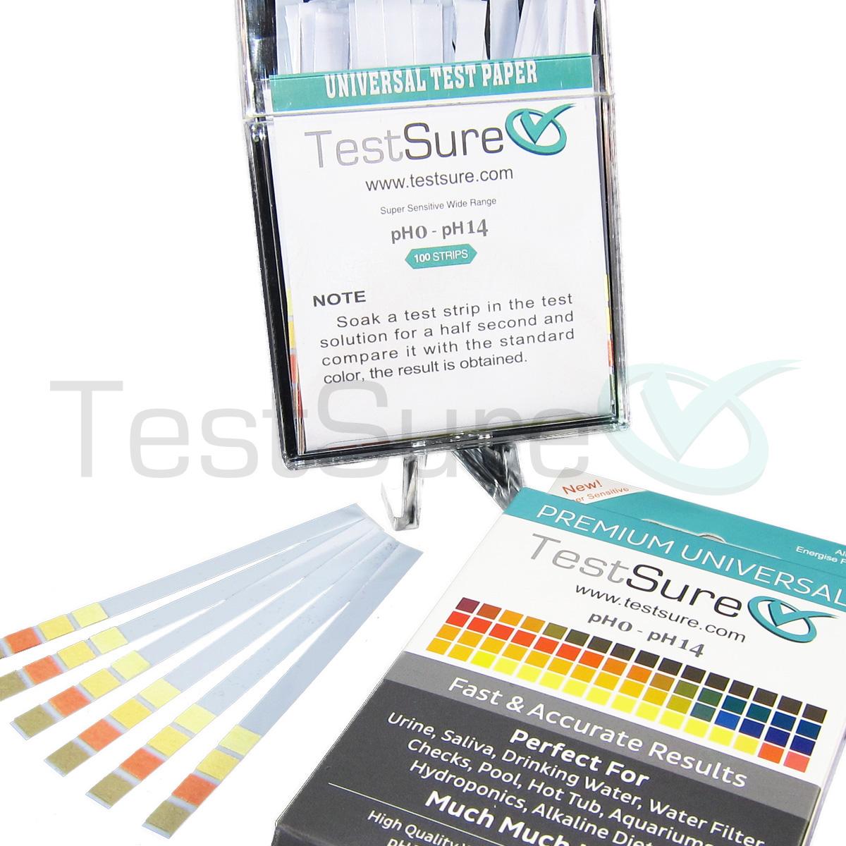 Drug Test Kits >> pH Test Strips for Water & Soil | pH Test Paper | Test Sure