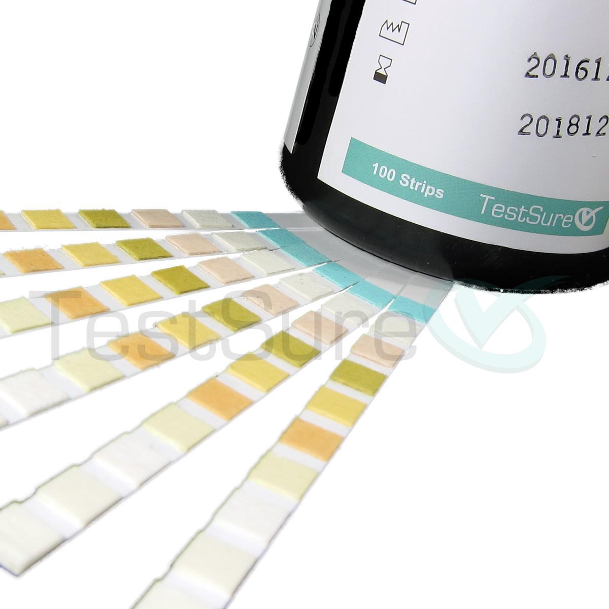 Urine Test Strips 10 Parameter At Home Urinalysis Test