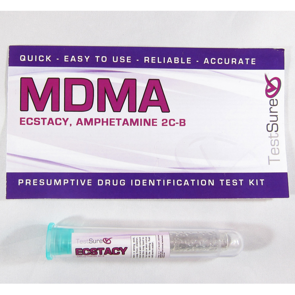 MDMA Test Kit | Reagent Field Test to Identify Ecstasy & Molly
