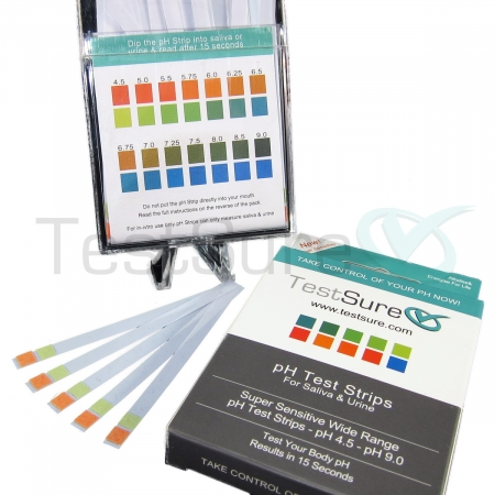 urine ph test strips